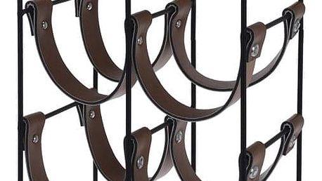 Home Styling Collection Kovový stojan na víno - 10 lahví