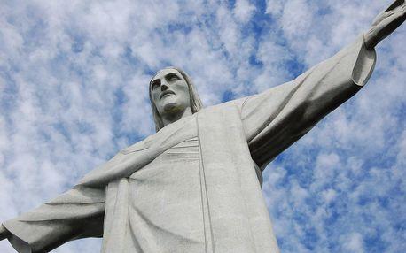 Brazílie letecky na 10 dnů, polopenze