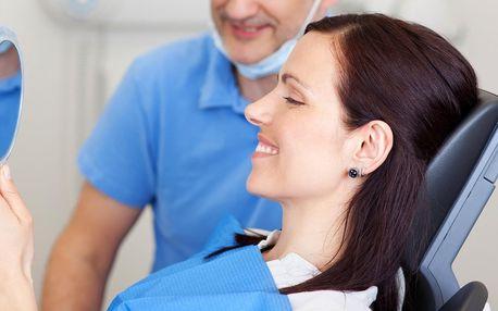 60 min. důkladné dentální hygieny s anestezií