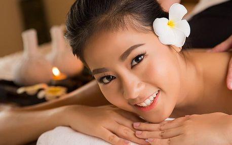 Thajská masáž zad a šíje v délce 30 až 60 minut