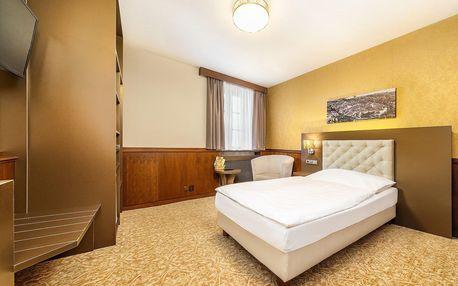 Wellness pobyt s polopenzí ve 4* hotelu na náměstí v Třeboni