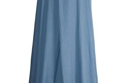 Home Styling Collection Baldachýn nad postelí, 230 x 650 cm, modrá barva