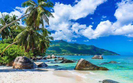 Seychely letecky na 10 dnů, strava dle programu
