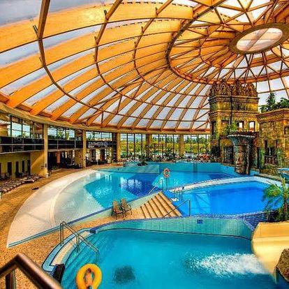 Valentýn v 4 * Aquaworld Resortu s polopenzí v Budapešti
