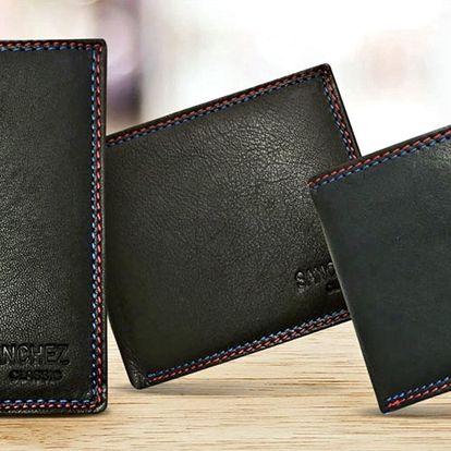 Kvalitní kožené peněženky s dárkovou krabičkou