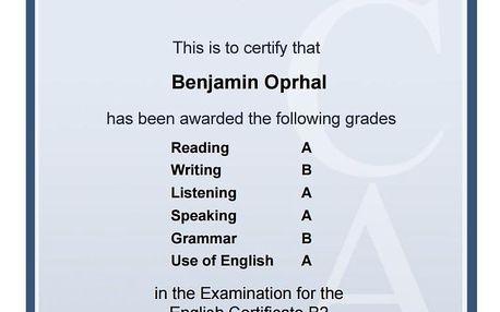 Online jazykové kurzy angličtiny s certifikátem KET/PET/FCE