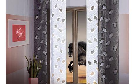 Forbyt Japonská stěna Black, 50 x 240 cm