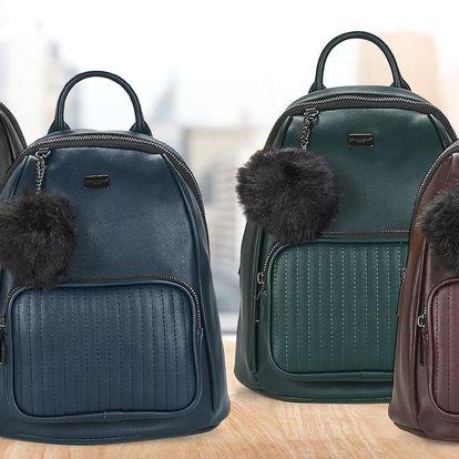 Nová kolekce dámských batohů z eko kůže: 4 barvy