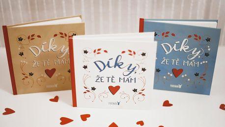 Díky, že tě mám: originální kniha pro vaši lásku