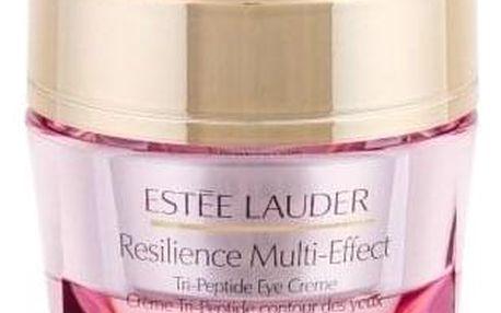 Estée Lauder Resilience Multi-Effect Tri-Peptide Eye Creme 15 ml zvláčňující multifunkční oční krém pro ženy