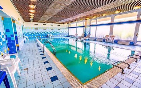 Luhačovice: Hotel Harmonie *** s lázeňskými procedurami, bazénem, masáží a polopenzí