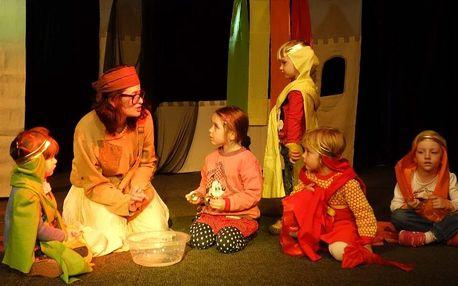 Vstupenka na dětské představení Duhový hrad