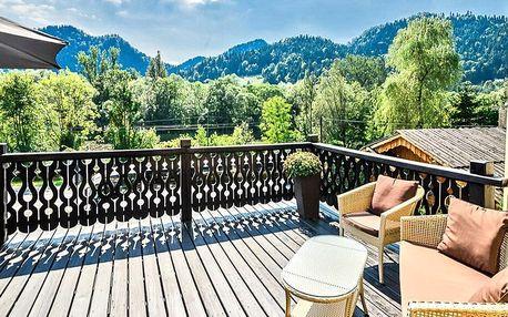 Pobyt u Pieninského národního parku: jídlo a sauny