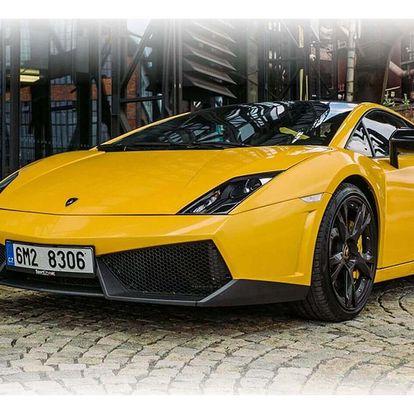 S Lamborghini Gallardo na plný plyn