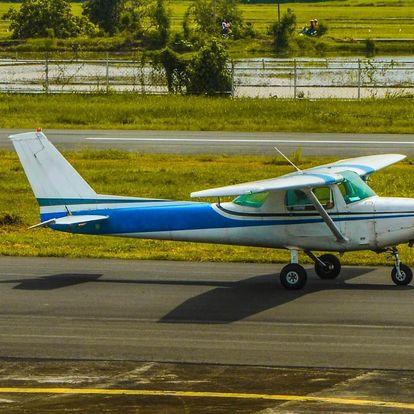 Vyhlídkový let letadlem Cessna 207 30 minut