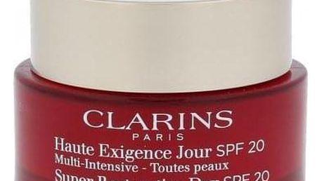Clarins Age Replenish Super Restorative Day SPF20 50 ml protivráskový denní krém pro všechny typy pleti pro ženy