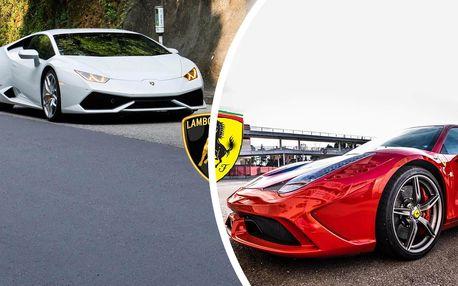 2 luxusní sporťáky: Lamborghini vs. Ferrari