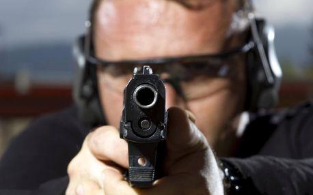 Balíček akční střelby na kryté střelnici