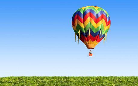 Oblíbený vyhlídkový let balonem: Zlevněná letenka