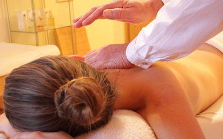 Uvolňující aromaterapeutická masáž