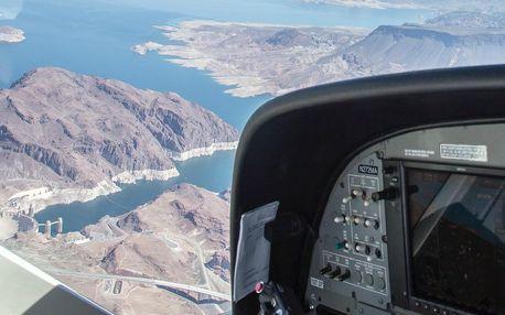 Vyhlídkový let letadlem Cirrus SR20 30 minut