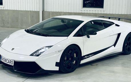 Luxusní zážitková jízda v Lamborghini Gallardo