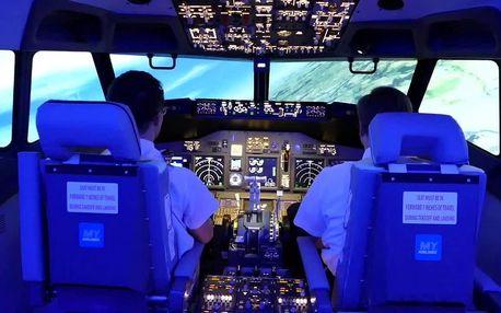 Zalétej si na simulátoru letounu Boeing 737NG 30 min
