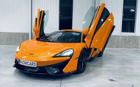 Super jízda v super voze McLaren 570S