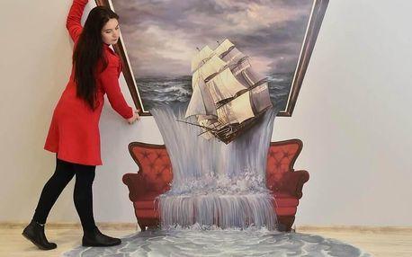 Fata Morgana: Vstup pro dva do muzea iluzí ve Františkových Lázních