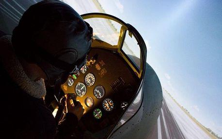 Letecký simulátor Supermarine Spitfire v Brně