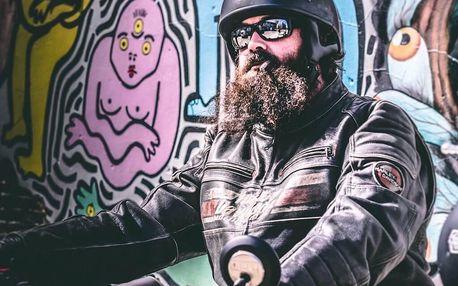 Hodina v motoristickém nebi: spolujízda na Harley - Davidson Softail heritage - 1600 ccm