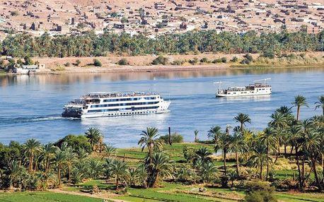 Egypt letecky na 8-12 dnů