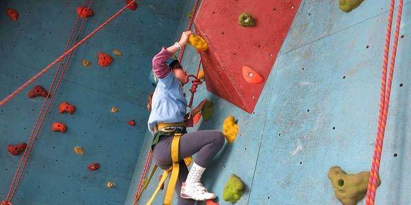 Kurz lezení na umělé stěně pro začátečníky i pokročilé2