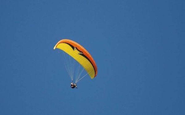 Termický tandem paragliding v Beskydech2