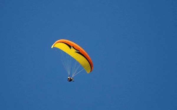Tandemový paragliding v Beskydech4