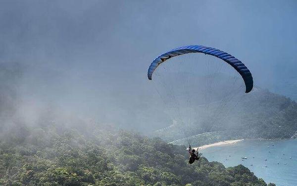Termický tandem paragliding v Beskydech3