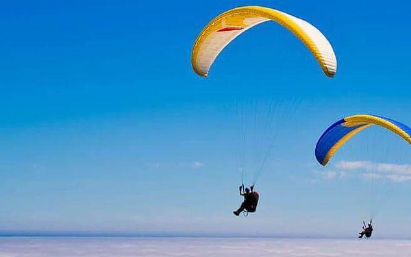 Tandemový paragliding v Beskydech5