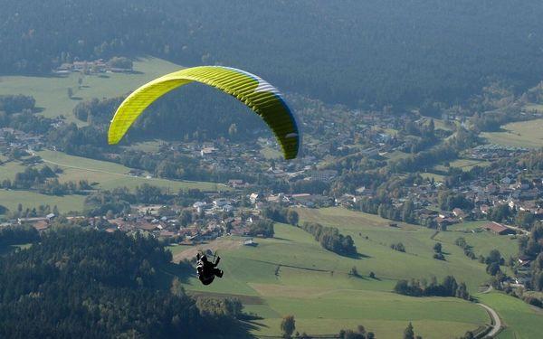 Nesmírně vzrušující tandemový paragliding v Beskydech
