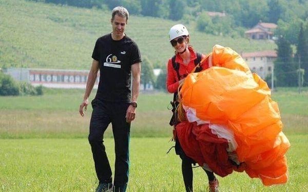 Termický tandem paragliding v Beskydech4