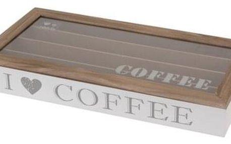 Orion Box dřevěný na kapsle Coffee