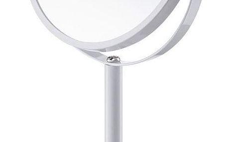 Kosmetické zrcátko, zvětšení x3, barva bílá, ZELLER