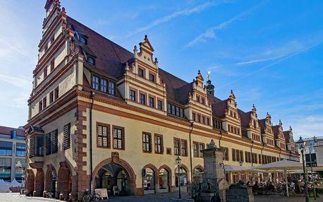 Luxusní pobyt v Lipsku v moderním 4* hotelu - dlouhá platnost poukazu