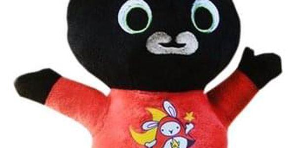 HIT! Plyšový králíček BING Typ: Bing ČERVENO ZELENÝ3