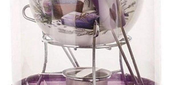 Banquet Sada fondue LAVENDER 6 ks2