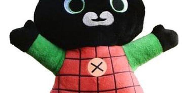 HIT! Plyšový králíček BING Typ: Bing ČERVENO ZELENÝ