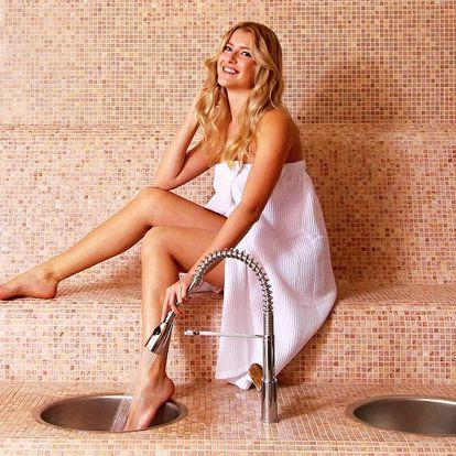 Párová masáž nebo 60–120 minut privátního wellness