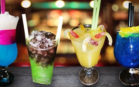 Dva míchané padoušské drinky podle výběru