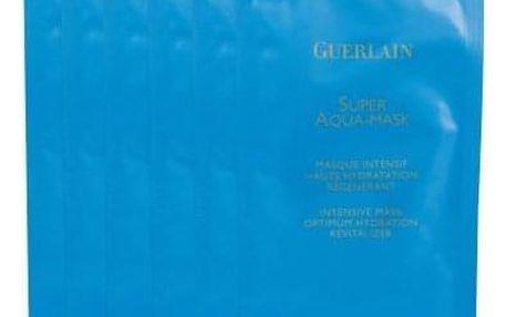 Guerlain Super Aqua Mask 6ks 1 ks intenzivní hydratační maska pro ženy