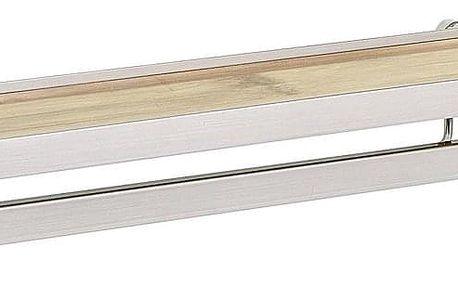 Kuchyňská polička na koření s obrubovými lištami Bamboo Premium, WENKO