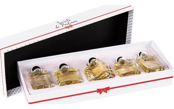 Dárková sada francouzských parfémů Charrier Parfums, 5 ks3